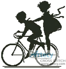 Bike - Cross Stitch Chart