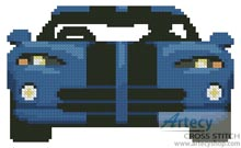 Blue Viper - Cross Stitch Chart