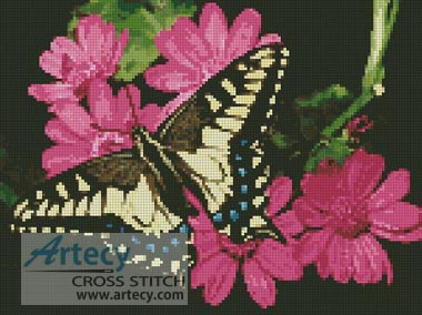 Butterfly 3 - Cross Stitch Chart