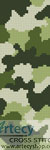 Camouflage Bookmark - Cross Stitch Chart