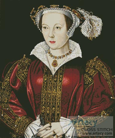Catherine Parr - Cross Stitch Chart