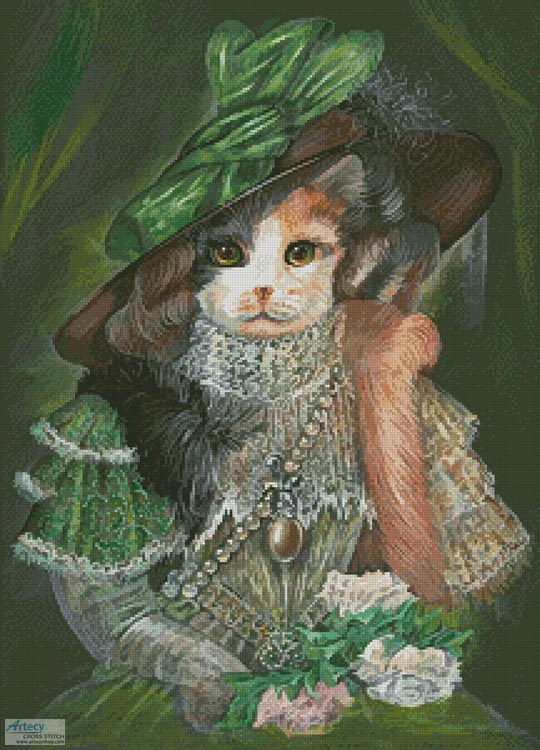 Cat Opera - Cross Stitch Chart