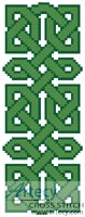 Celtic Bookmark 7 - Cross Stitch Chart