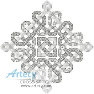 Celtic Blackwork - Cross Stitch Chart