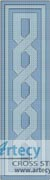 Celtic Bookmark 5 - Cross Stitch Chart