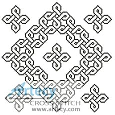 Celtic Chart 4 - Cross Stitch Chart