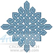 Celtic Chart 7 - Cross Stitch Chart
