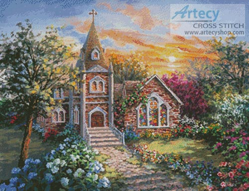 Charming Tranquility 2 - Cross Stitch Chart