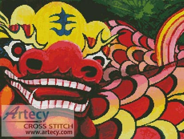 Chinese Dragon - Cross Stitch Chart