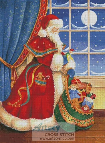 Christmas Delivery - Cross Stitch Chart
