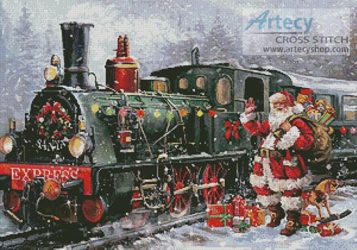 Christmas Express - Cross Stitch Chart
