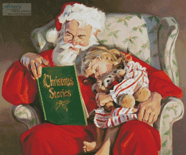 Christmas Stories - Cross Stitch Chart