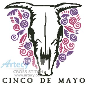 Cinco de Mayo - Cross Stitch Chart