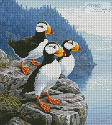 Cliff Dwellers (Crop) - Cross Stitch Chart