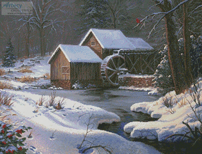 Closed for the Holidays - Cross Stitch Chart