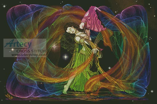 Cosmic Dancer - Cross Stitch Chart