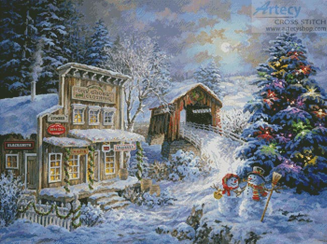 Country Shopping - Cross Stitch Chart