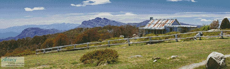 Craig's Hut 1 - Cross Stitch Chart