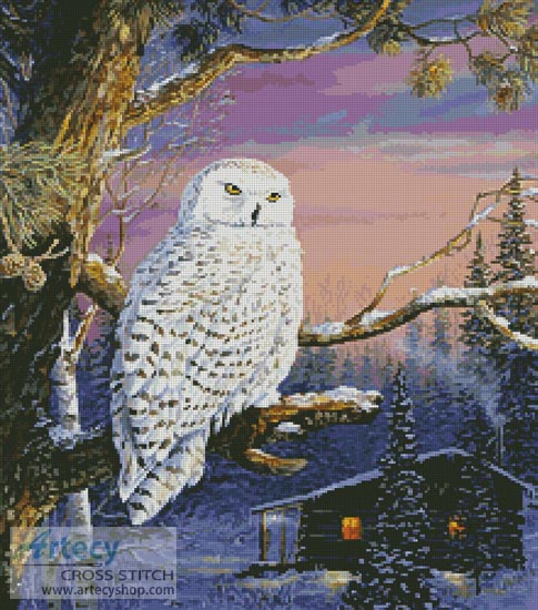 Dawn's Outpost - Cross Stitch Chart
