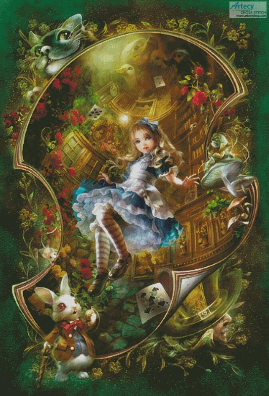 Dear Alice (Large) - Cross Stitch Chart