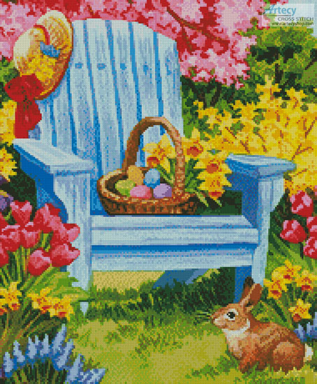 Easter Morning (Crop) - Cross Stitch Chart