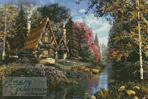 Fairytale Cottage - Cross Stitch Chart