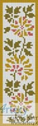 Floral Bookmark 2 - Cross Stitch Chart