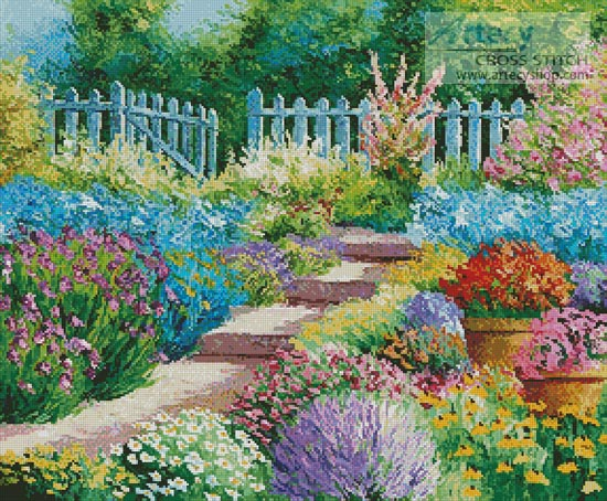 Flowers of the Garden - Cross Stitch Chart