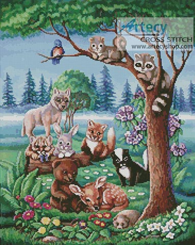 Forest Friends - Cross Stitch Chart