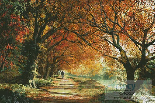 Forever Autumn - Cross Stitch Chart
