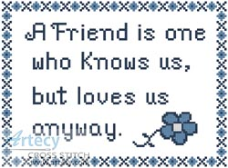 Friend - Cross Stitch Chart