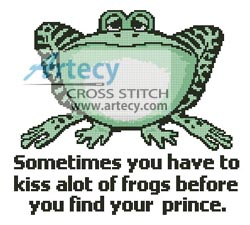 Frog Prince - Cross Stitch Chart