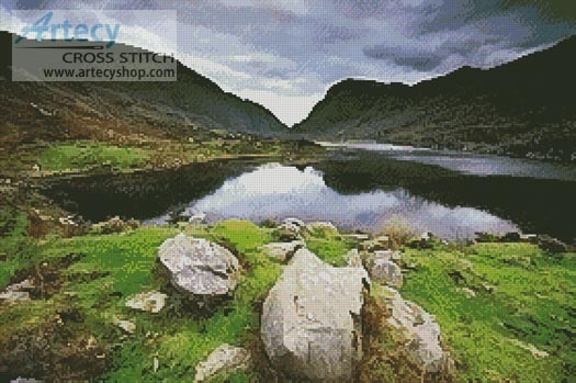 Gap of Dunloe - Cross Stitch Chart