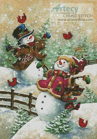 Gotta Love Snow - Cross Stitch Chart