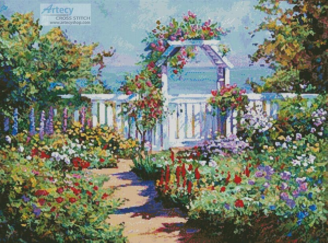 Hampton's Summer - Cross Stitch Chart