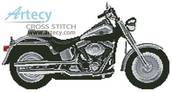 Harley 1 - Cross Stitch Chart