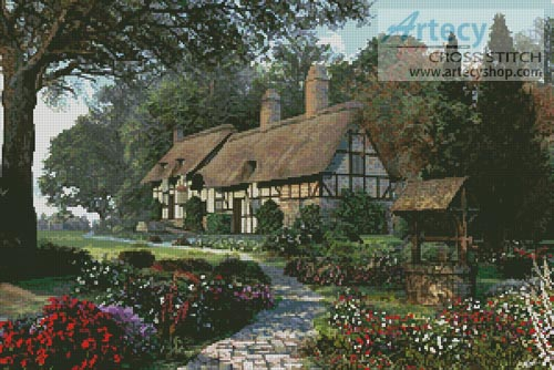 Hathaway Cottage - Cross Stitch Chart