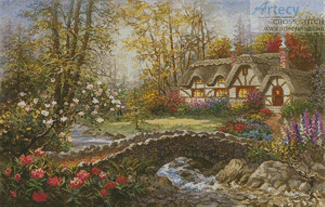 Home Sweet Home - Cross Stitch Chart