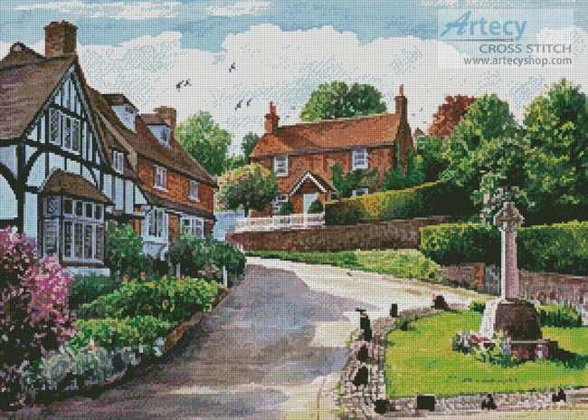 Igtham Village - Cross Stitch Chart