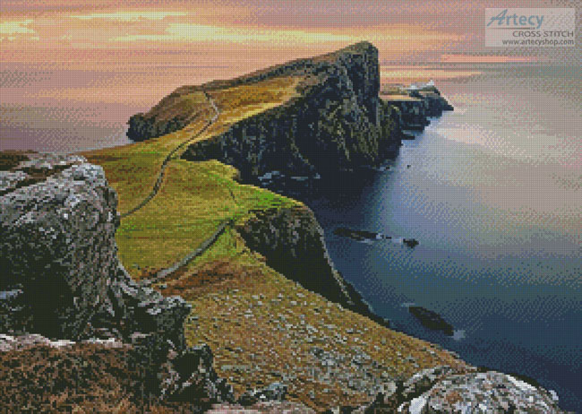 Isle of Skye - Cross Stitch Chart