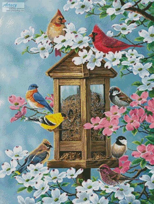 Joys of Spring - Cross Stitch Chart
