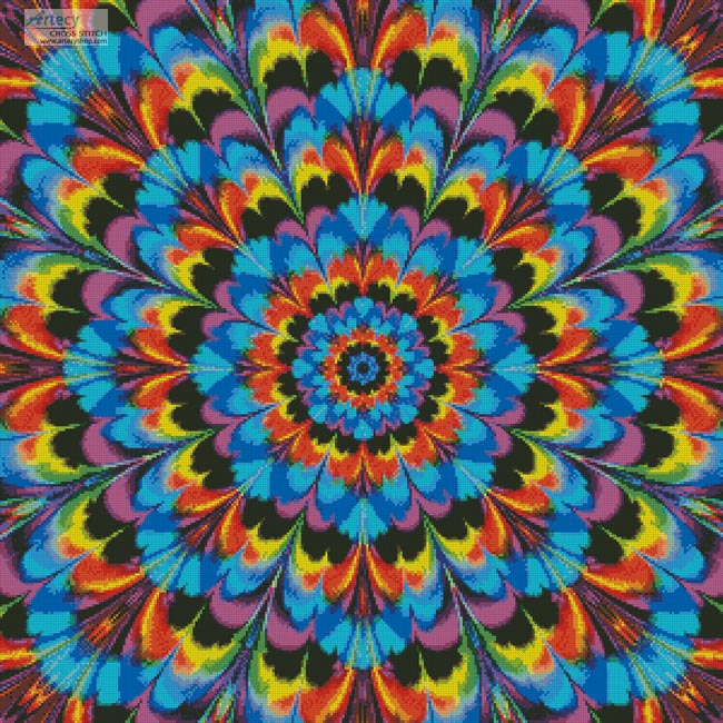 Kaleidoscope 2 - Cross Stitch Chart