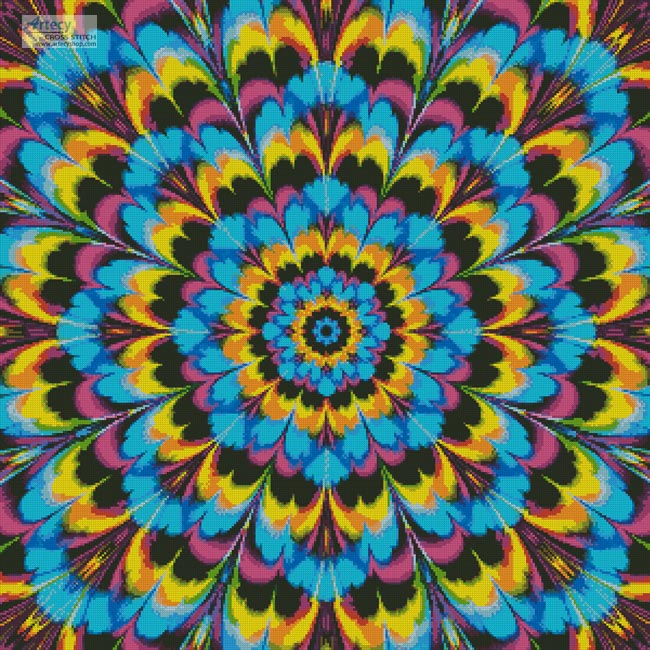 Kaleidoscope 3 - Cross Stitch Chart