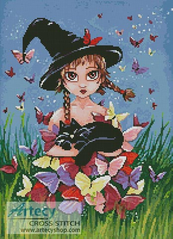 Katy and Co - Cross Stitch Chart