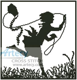 Kite - Cross Stitch Chart