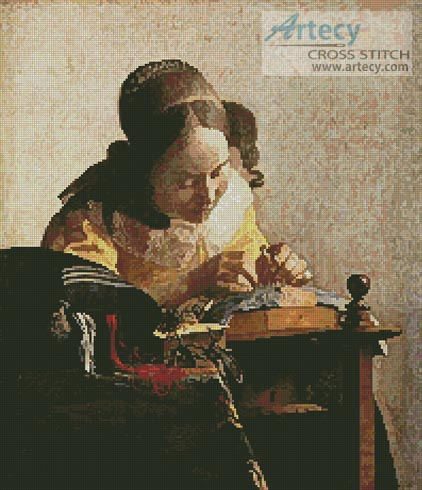 The Lace Maker - Cross Stitch Chart