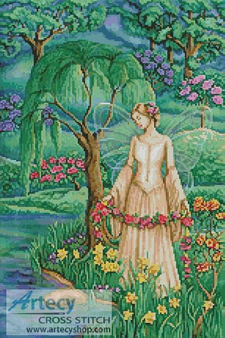 Lady of the Lake - Cross Stitch Chart
