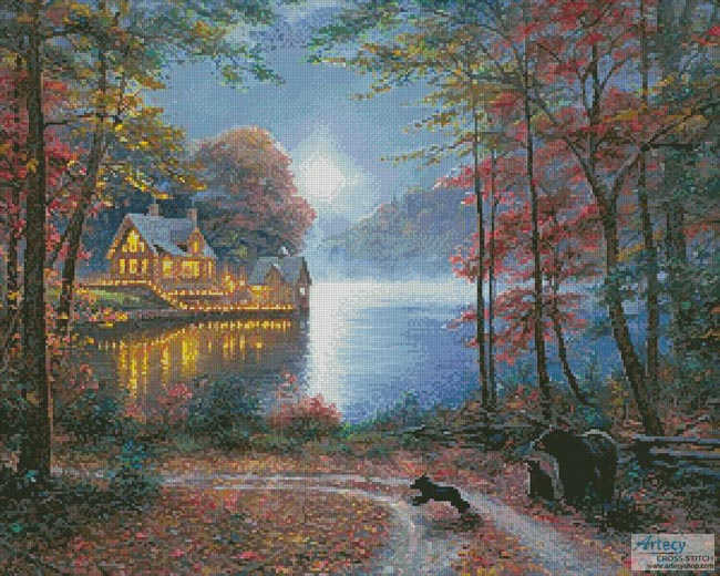 Lakeside Dreams - Cross Stitch Chart