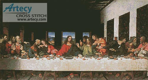 Last Supper - Cross Stitch Chart