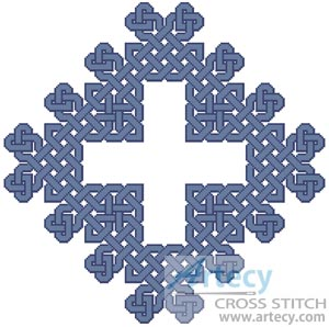 Celtic Chart 8 - Cross Stitch Chart